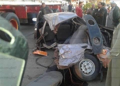 إصابة 12 في انقلاب أتوبيس بطريق بلبيس - العاشر