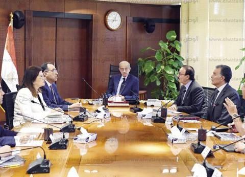 الحكومة تتابع تنفيذ «العاصمة الإدارية» وتتعهد بتطوير الجهاز الإدارى للدولة