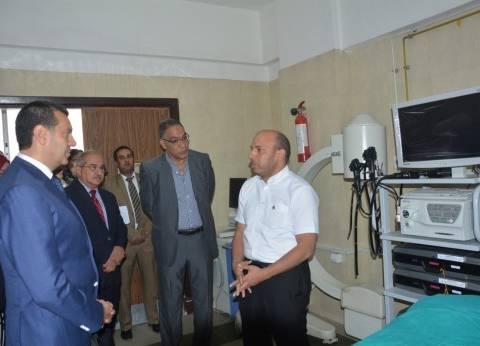 بالصور| محافظ أسيوط يفتتح وحدات طبية جديدة بمعهد جنوب مصر للأورام