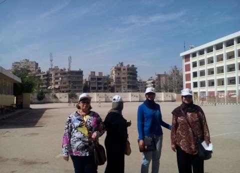 وفد من الجامعة العربية يتفقد لجان مصر الجديدة في ثاني أيام الانتخابات
