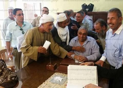 بالصور| رئيس مدينة سيدي سالم يبحث شكاوى الأهالي