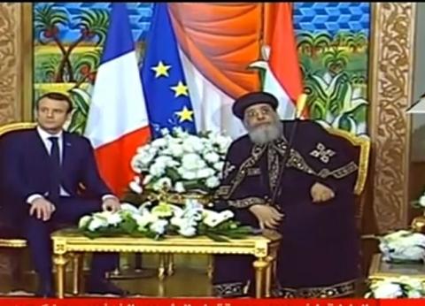 """الرئيس الفرنسي: """"لا يمكن أن نفصل بين المناخ والاقتصاد"""""""
