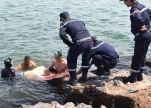 """""""الإنقاذ البحرى"""" تبحث عن شاب مفقود فى مياه البحر الأحمر"""