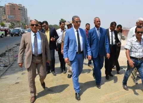 محافظ سوهاج في جولة لتفقد توسعة كورنيش النيل وميدان الثقافة