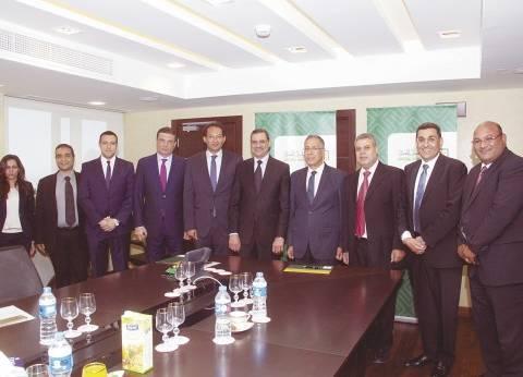 «الأهلى المصرى» يوقع اتفاقية تعاون لتفعيل الدفع الإلكترونى ببنك ناصر الاجتماعى