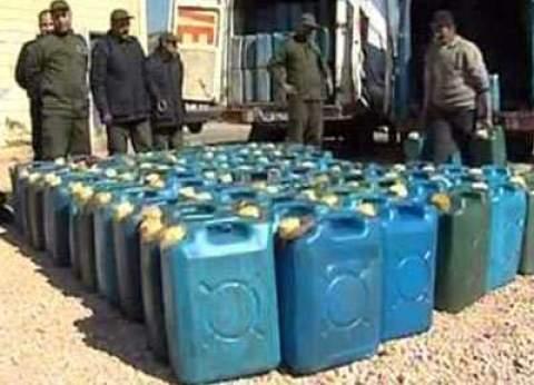 ضبط كميات من السولار والبنزين قبل تهريبه للسوق السوداء بالإسكندرية