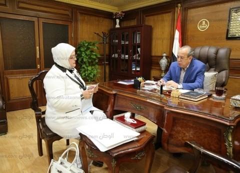 محافظ كفر الشيخ يتابع صيانة المدارس استعدادا العام الدراسي