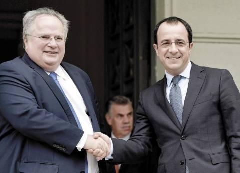 اليونان: ندعم قبرص فى مواجهة تركيا.. و«نيقوسيا»: سنواصل التنقيب فى «المتوسط»