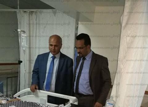 وكيل وزارة الصحة ببني سويف يشيد باداء مدير وأطباء المستشفى العام
