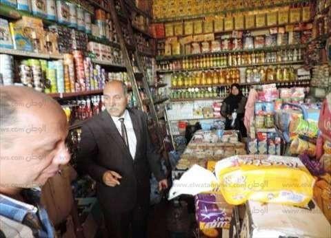 بالصور| مدير أمن أسوان يتابع أسعار السلع الغذائية في أسواق المحافظة