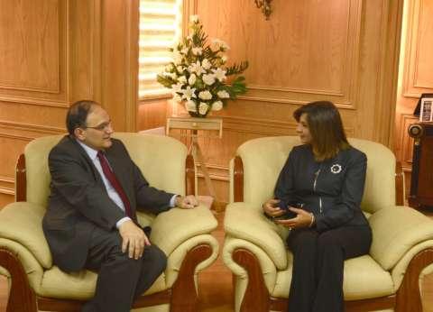 وزيرة الهجرة لسفير أرمينيا: علاقتنا بكم قائمة على الصداقة والتعاون