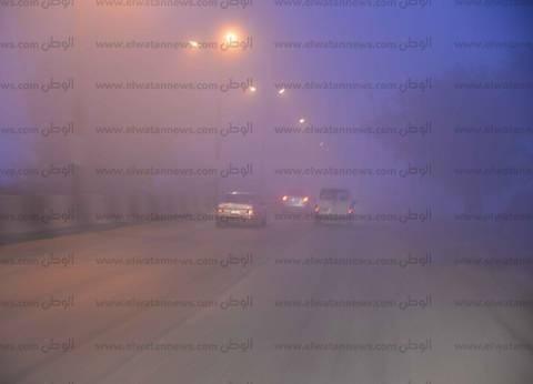 """""""إسعاف كفر الشيخ"""" يناشد السائقين بتوخي الحذر بسبب الأمطار"""
