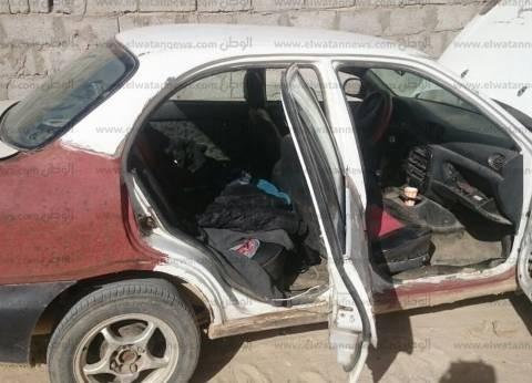 """""""الوطن"""" تنشر صور الهجوم على كميني """"المطافي"""" و""""المساعيد"""" في شمال سيناء"""