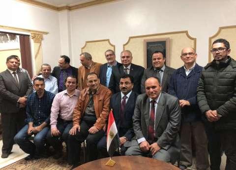 """تكريم ابن جامعة بنها خلال حفل إفطار """"في حب مصر"""" بالسعودية"""