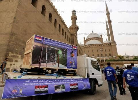 """زيدان: تجمع عجلات عربة """"توت عنخ آمون"""" من أهم الأحداث بـ""""المتحف الكبير"""""""