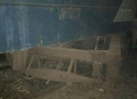 عودة حركة القطارات بعد إعادة تسيير قطار الإسكندرية المعطل بقليوب