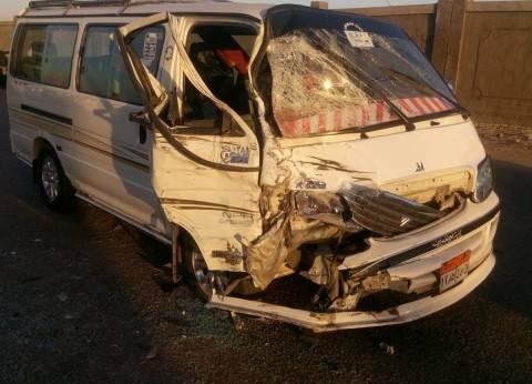 """الصحة: وفاة شخصين وإصابة 13 في انقلاب """"ميكروباص"""" بأسيوط"""