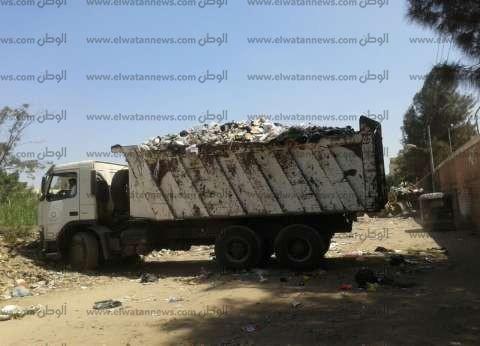 رفع 22 طن قمامة من شوارع مدينة البلينا في سوهاج