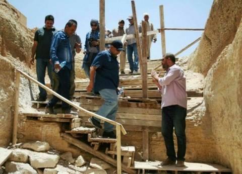 عشماوي: إزالة سقالات سقارة بعد انتهاء أعمال الترميم