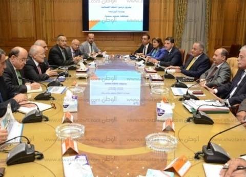 العصار يستقبل وزير التجارة لمناقشة خطوات تنفيذ مشروعات أبو زنيمة