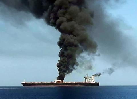 عاجل| مسؤول أمريكي: سفن إيرانية تمنع سحب ناقلة النفط النرويجية المتضررة
