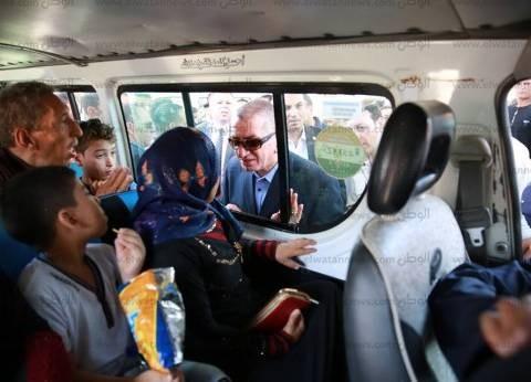 بالصور| محافظ كفر الشيخ يتابع تطبيق التعريفة الجديدة