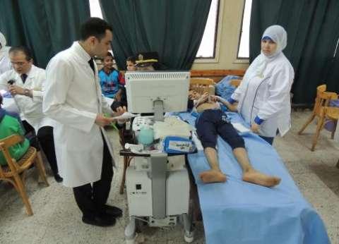 الداخلية توجه قوافل طبية لدور الأيتام ضمن الاحتفال بيوم اليتيم