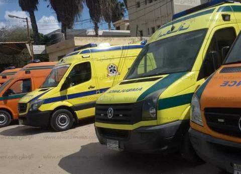 إصابة 5 أشخاص إثر حادث مروري في بني سويف