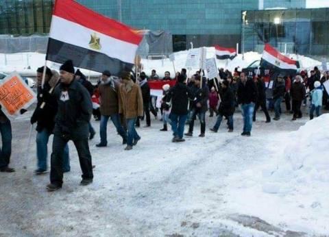 الجالية المصرية في فنلندا توفر سيارات خاصة لنقل الناخبين لمقر السفارة