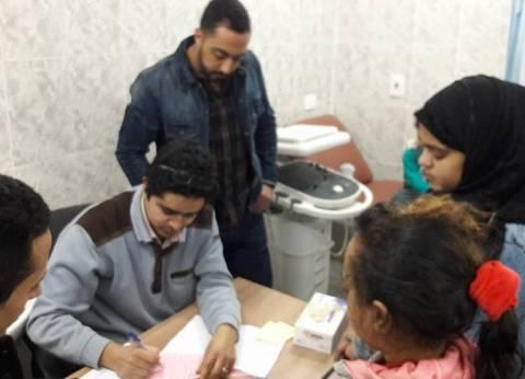 وفد جامعة الأزهر يبحث مع رئيس حي الأسمرات احتياجات أهالي الحي