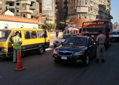 """""""مرور الإسكندرية"""" يحرر 2654 مخالفة مرورية متنوعة خلال حملة مكبرة"""