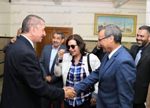 بالصور| محافظ كفر الشيخ يستقبل نائب وزير الزراعة