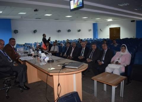 اختتام أعمال المؤتمر الصيني المصري بجامعة بنها