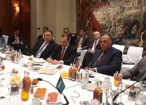 مصر تشارك للمرة الأولى في المجموعة الدولية المصغرة حول سوريا