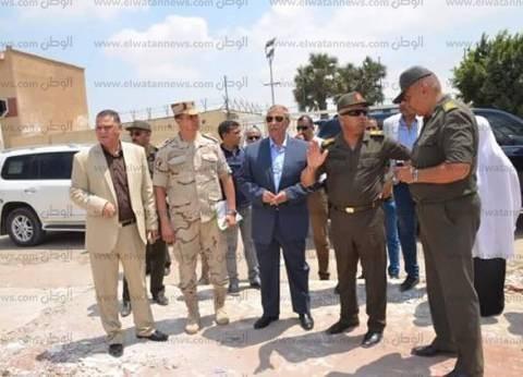 محافظ الإسماعيلية وكامل الوزير يتفقدان أعمال مشروع المحور الجديد