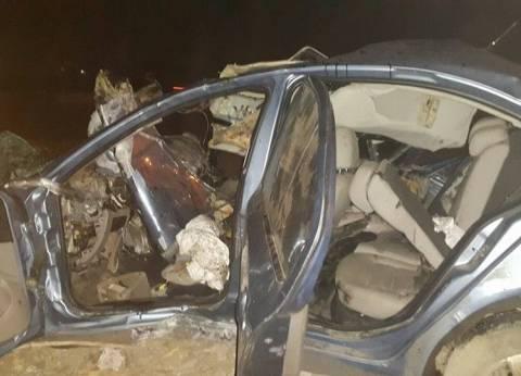 """مصرع شخص وإصابة 5 في حادث تصادم بطريق """"مطروح - إسكندرية"""""""