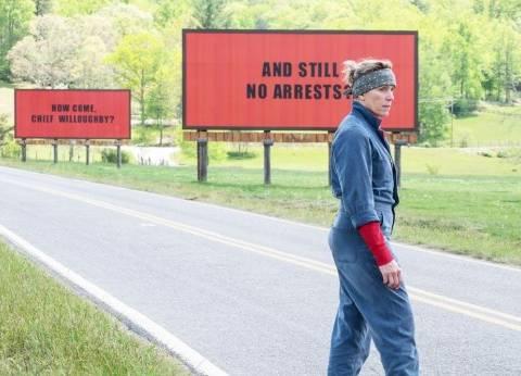 """بعد """"جولدن جلوب"""".. """"Three Billboards"""" ينافس على أفضل فيلم بـ""""بافتا"""""""