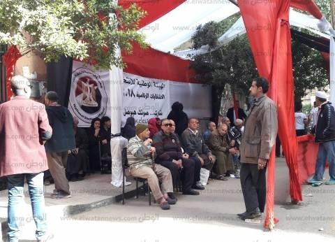 إجراءت أمنية مشددة بمحيط اللجان ببني سويف تزامنا مع بدء التصويت