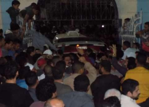 """أهالي بلبيس يشيعون جثمان المجند """"محمد سعيد"""" شهيد الواجب بالعريش"""