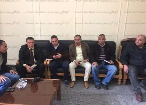 إضراب ضباط الأمن الإداري بجامعة بنها احتجاجا على فصلهم