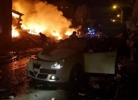 مصرع عامل نظافة في حريق شب بحجرة يقيم بها في الدقهلية