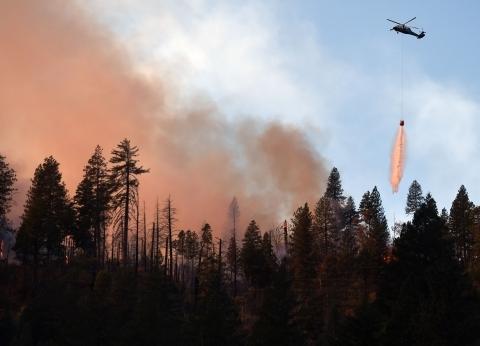 وصول خبراء إسرائيليين لإثيوبيا للمساعدة في مكافحة حرائق الغابات