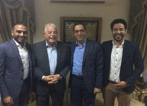 بالصور| محافظ جنوب سيناء يلتقي شباب التحالف السياسي المصري