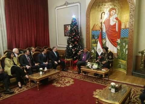 رئيس الطائفة الإنجيلية يزور البابا تواضروس الثاني للتهنئة بعيد الميلاد