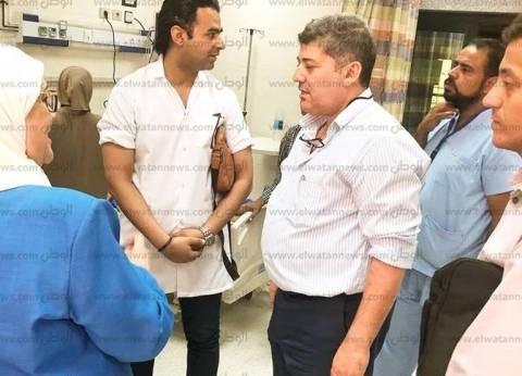 """وكيل """"صحة جنوب سيناء"""" يطالب بنقل الخبرات للأطباء في مستشفى رأس سدر"""