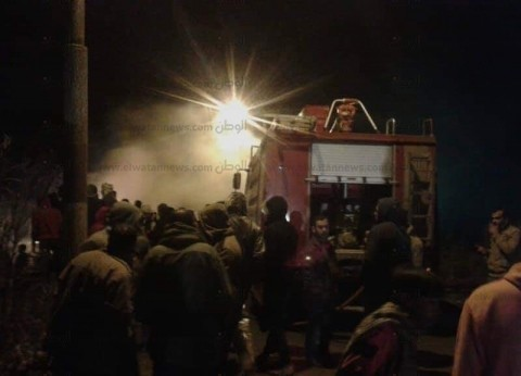 السيطرة على حريق هائل اندلع بجمعية الشابات المسلمات في أسيوط