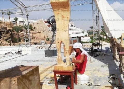 انطلاق منتدى فنون شباب العالم بشرم الشيخ بمشاركة 300 فنان من 40 دولة