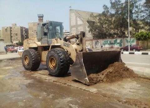 استكمال أعمال النظافة في شوارع حي العرب ببورسعيد