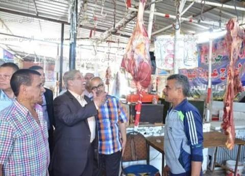 محافظ الإسماعيلية: استمرار الحملات الشاملة على الأسواق لضبط الأسعار