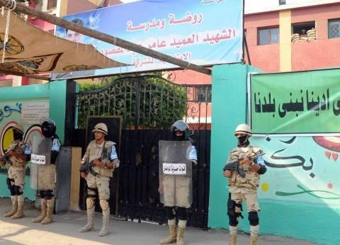 """قائد قوات التأمين بالجيزة: """"عاملين اللي علينا والمفروض المواطن ينزل ينتخب"""""""